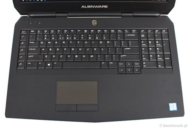 Dell Alienware 17 klawiatura