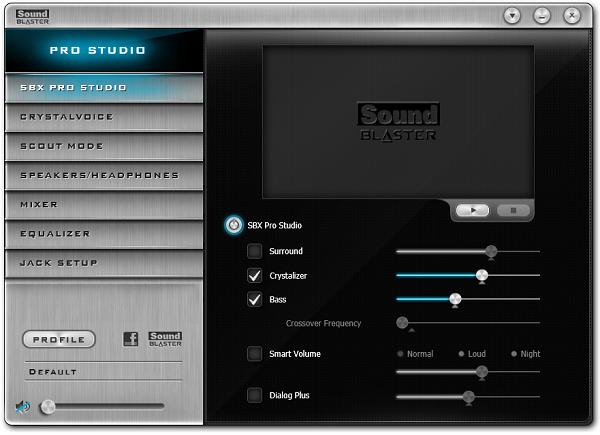 SoundBlaster Pro Studio