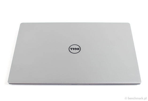 Dell XPS 13 pokrywa ekranu