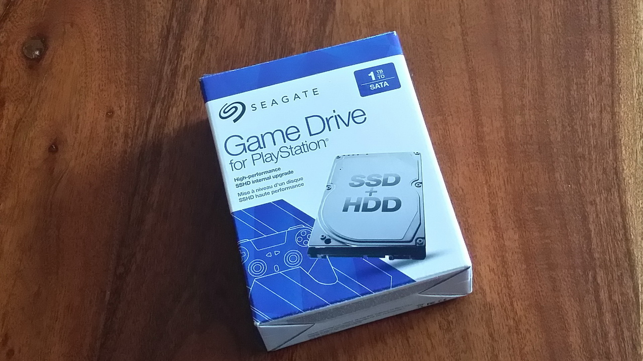 Seagate Game Drive for PlayStation - pudełko