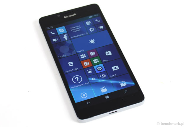 Microsoft Lumia 950: test