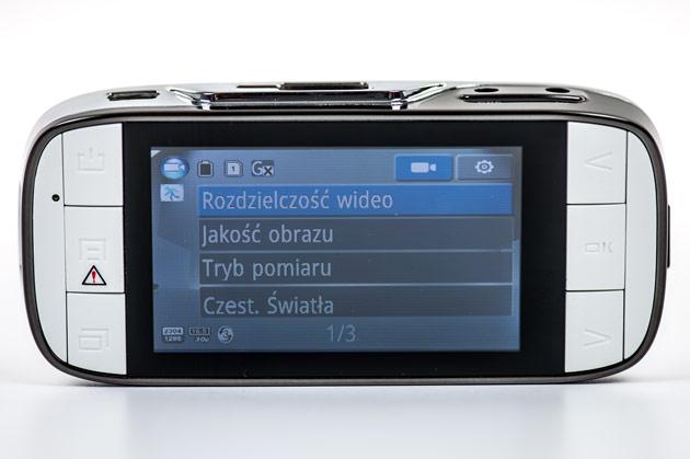 Xblitz P200 - menu