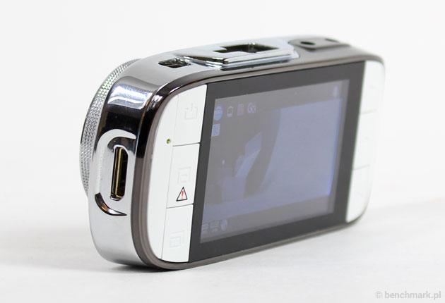 Xblitz P200 - wyjście mini HDMI