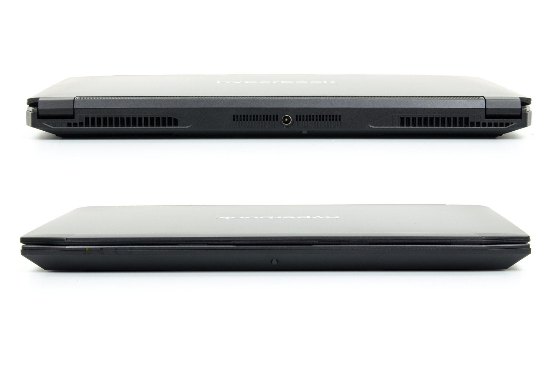 Hyperbook SL401 przód i tył