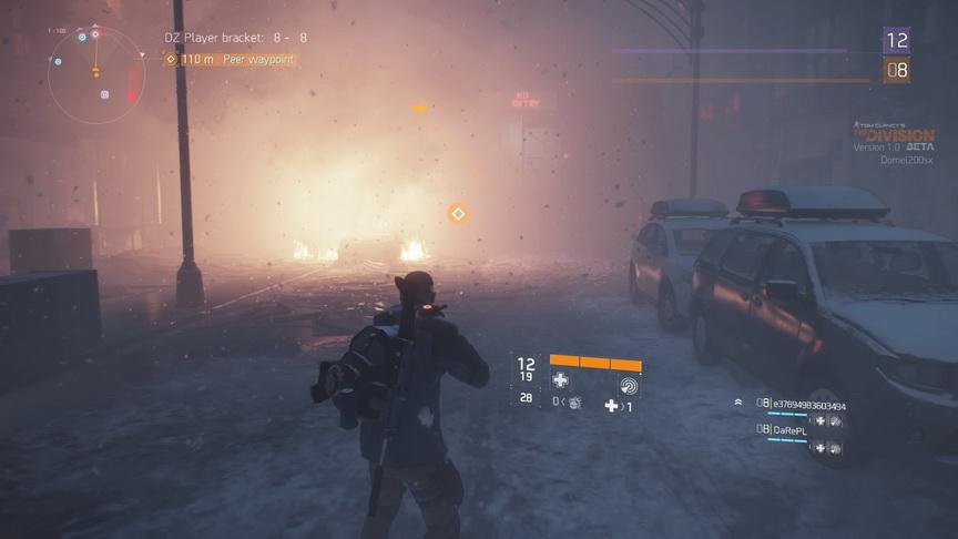 The Division beta - zamieć śnieżna