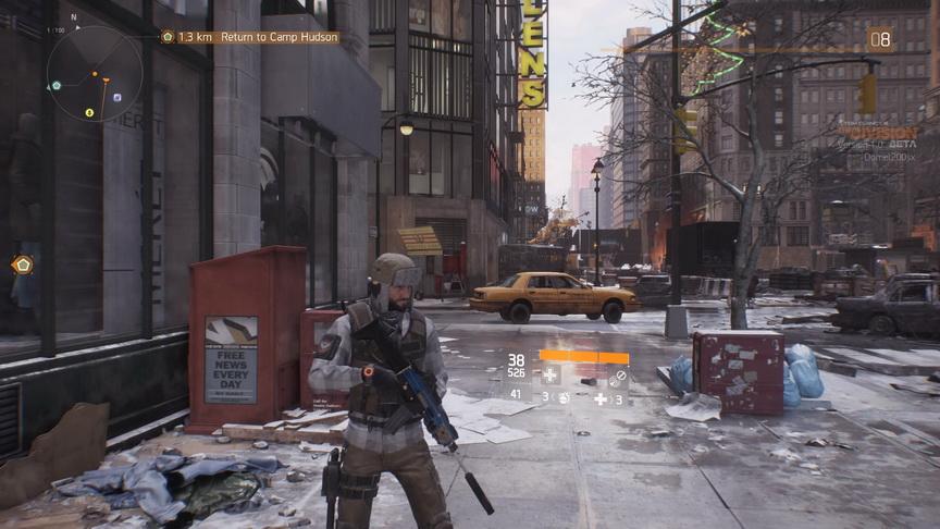 The Division beta - opustoszały Nowy Jork