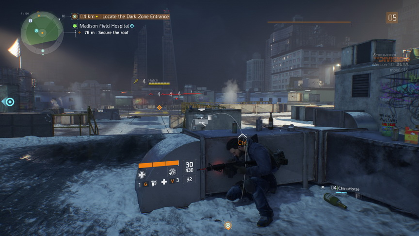 The Division beta - system osłon