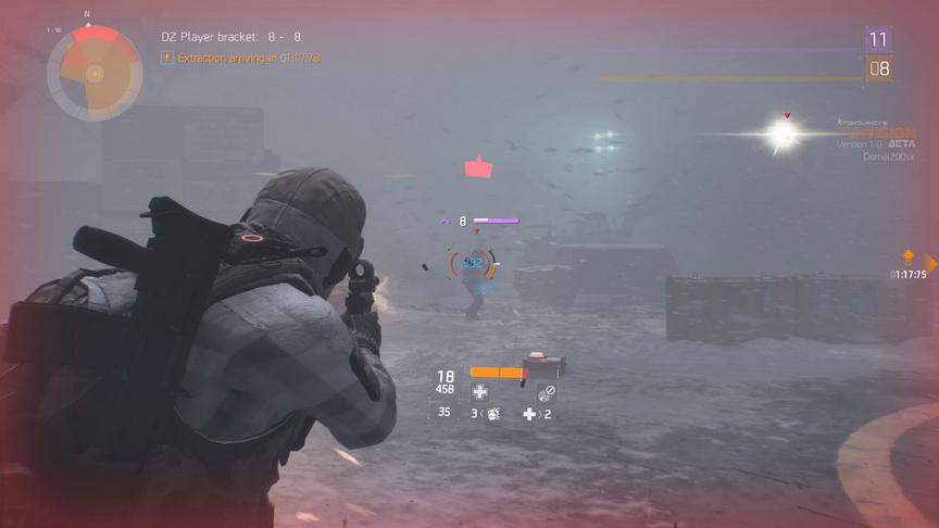 The Division beta - celowanie