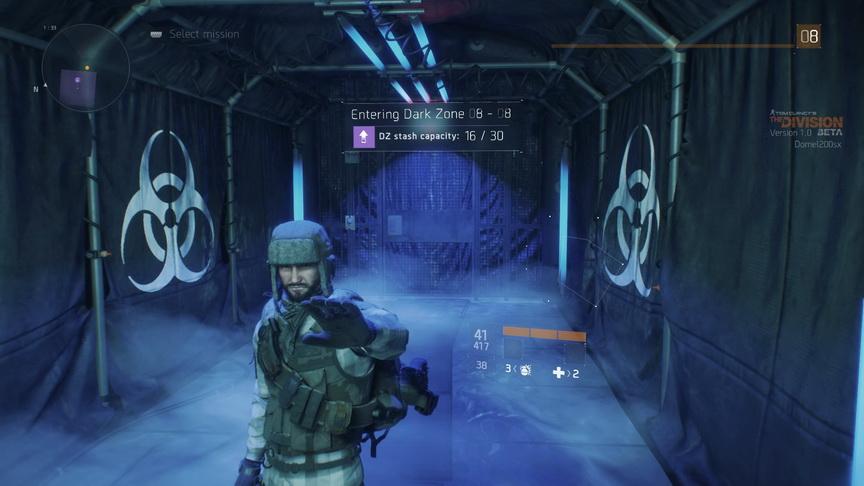 The Division beta - emotki