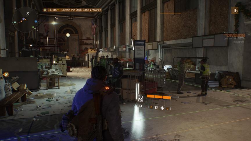 The Division beta - baza