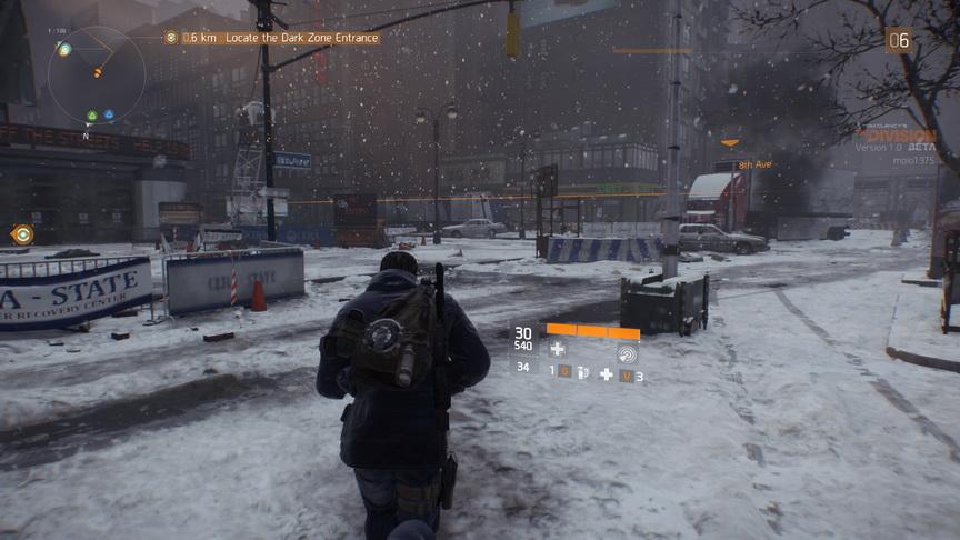 The Division beta - początek zamieci