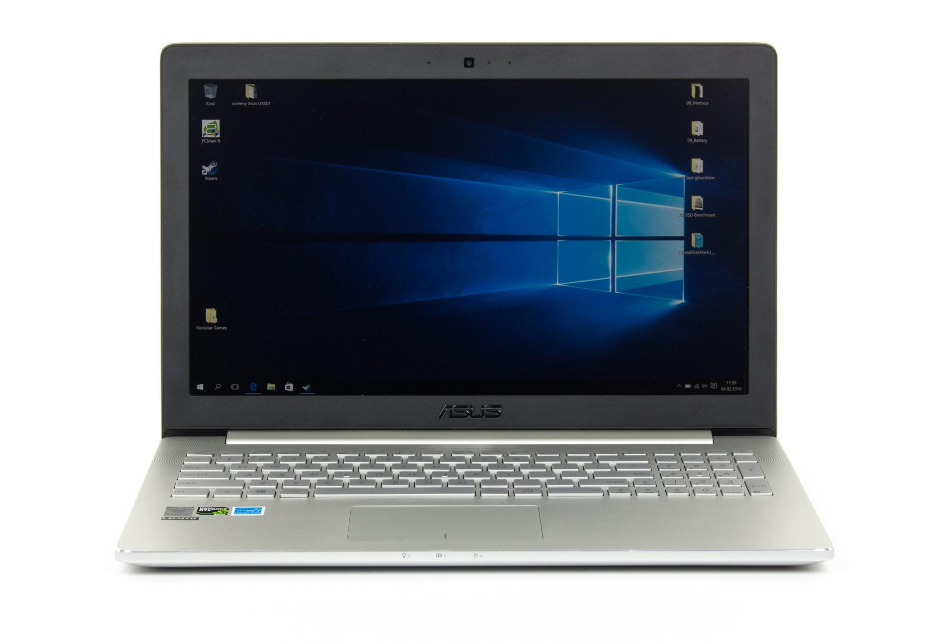 Asus Zenbook Pro UX501 przód