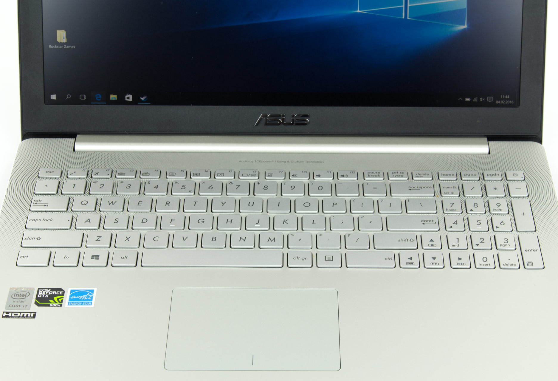 Asus Zenbook Pro UX501 klawiatura