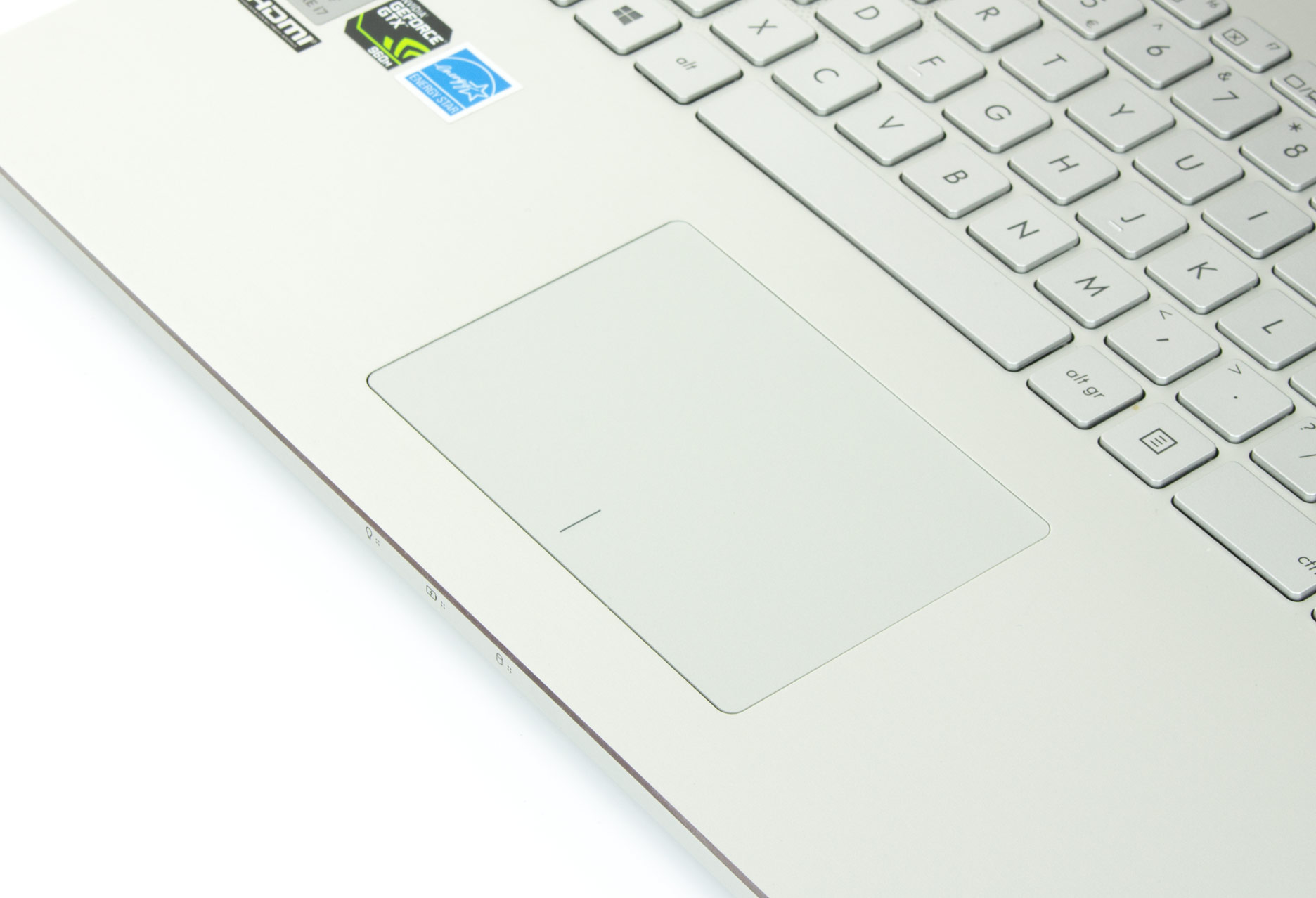Asus Zenbook Pro UX501 touchpad