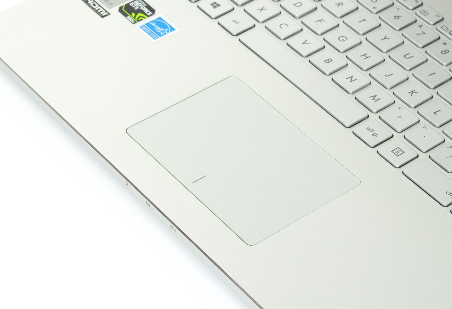 Asus Zenbook Pro UX501 touchpad