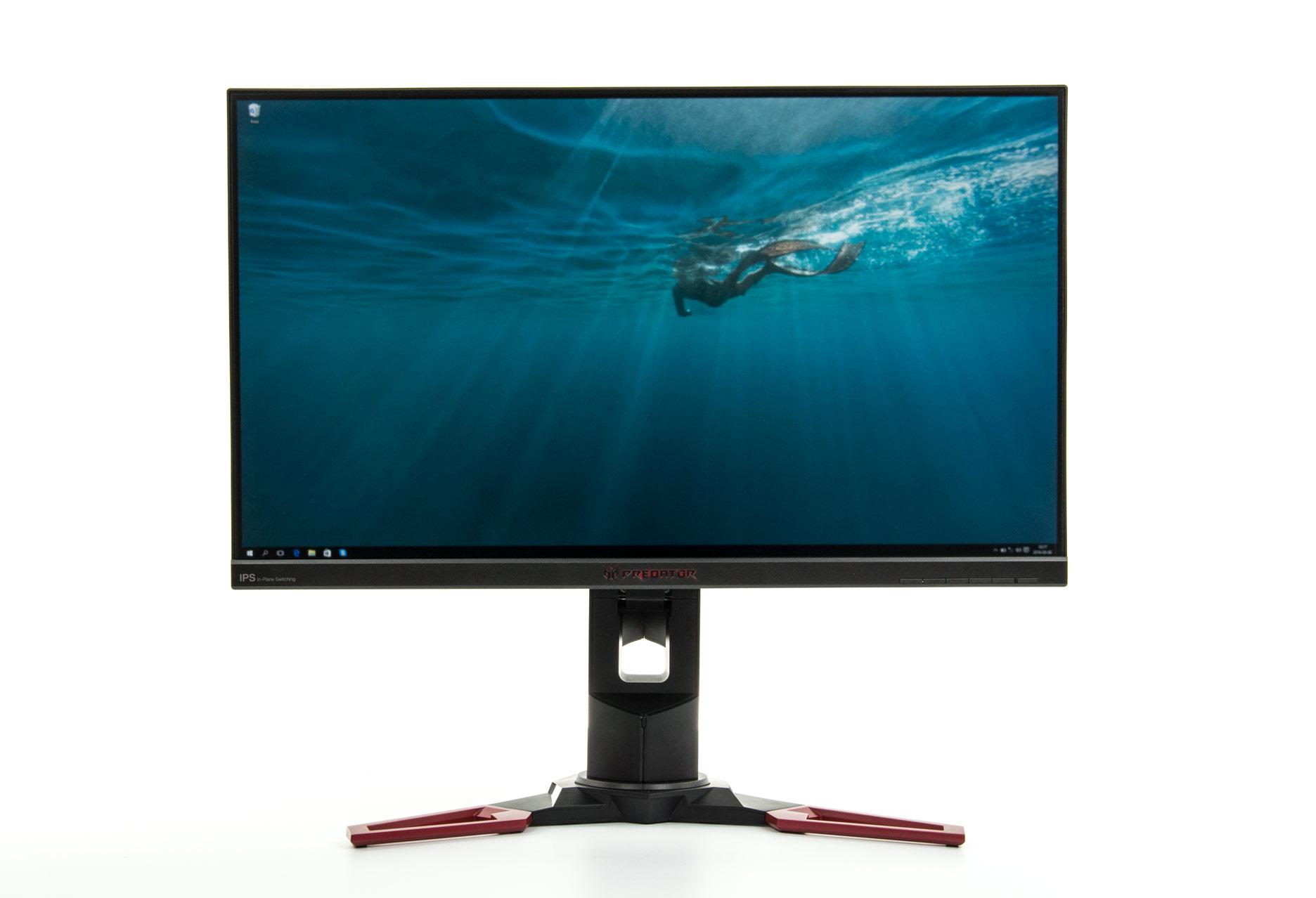 Acer Predator XB271HUbmiprz przód