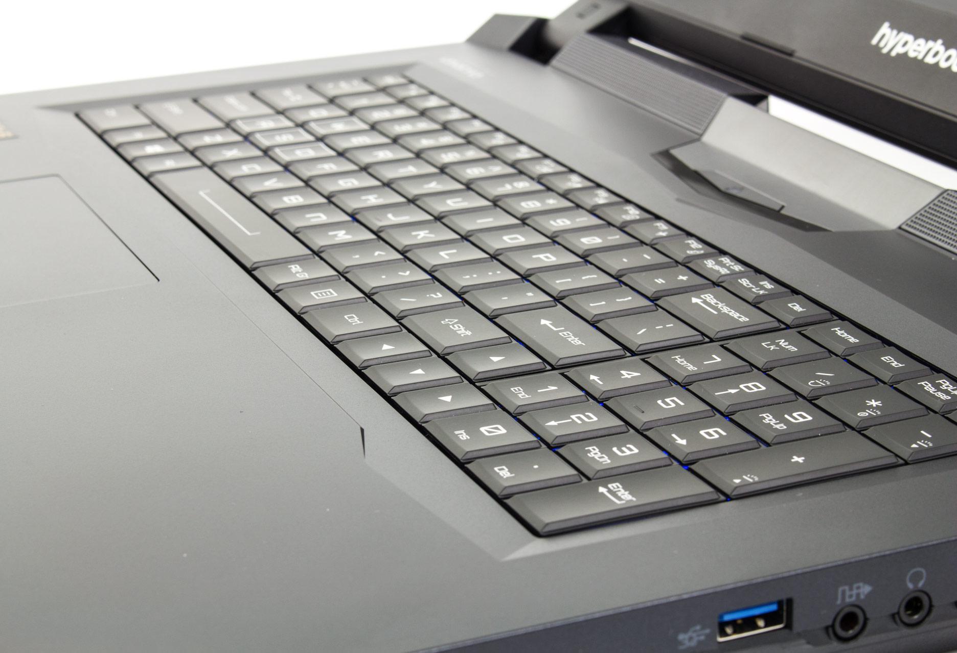 Hyperbook X77DM-G klawiatura