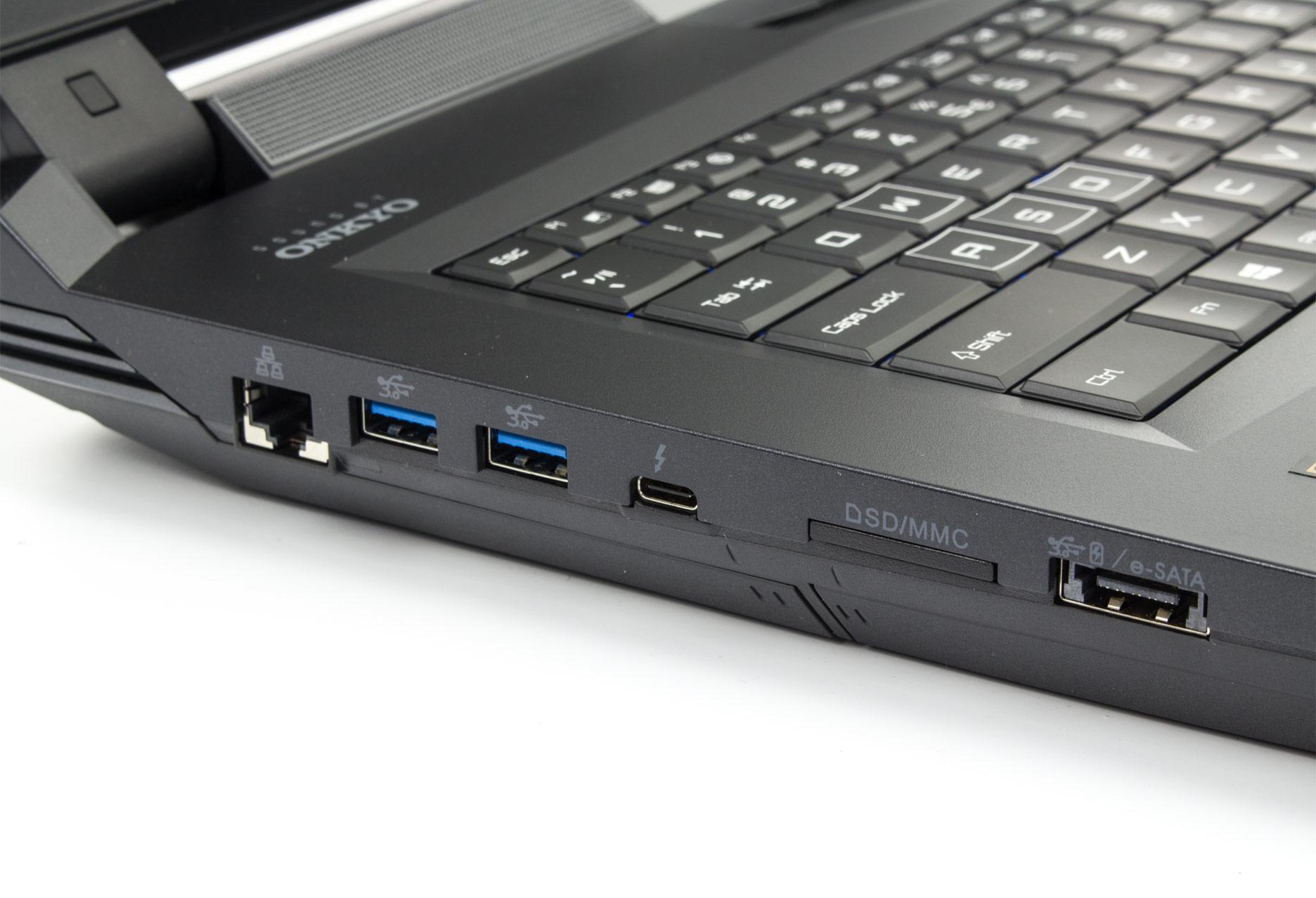 Hyperbook X77DM-G lewy bok