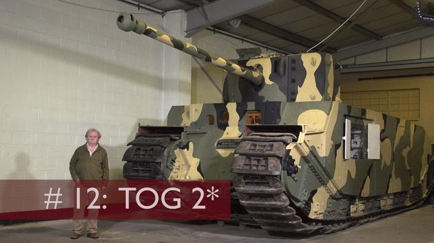 Spotkanie z Wargaming w muzeum w Bovington - TOG II