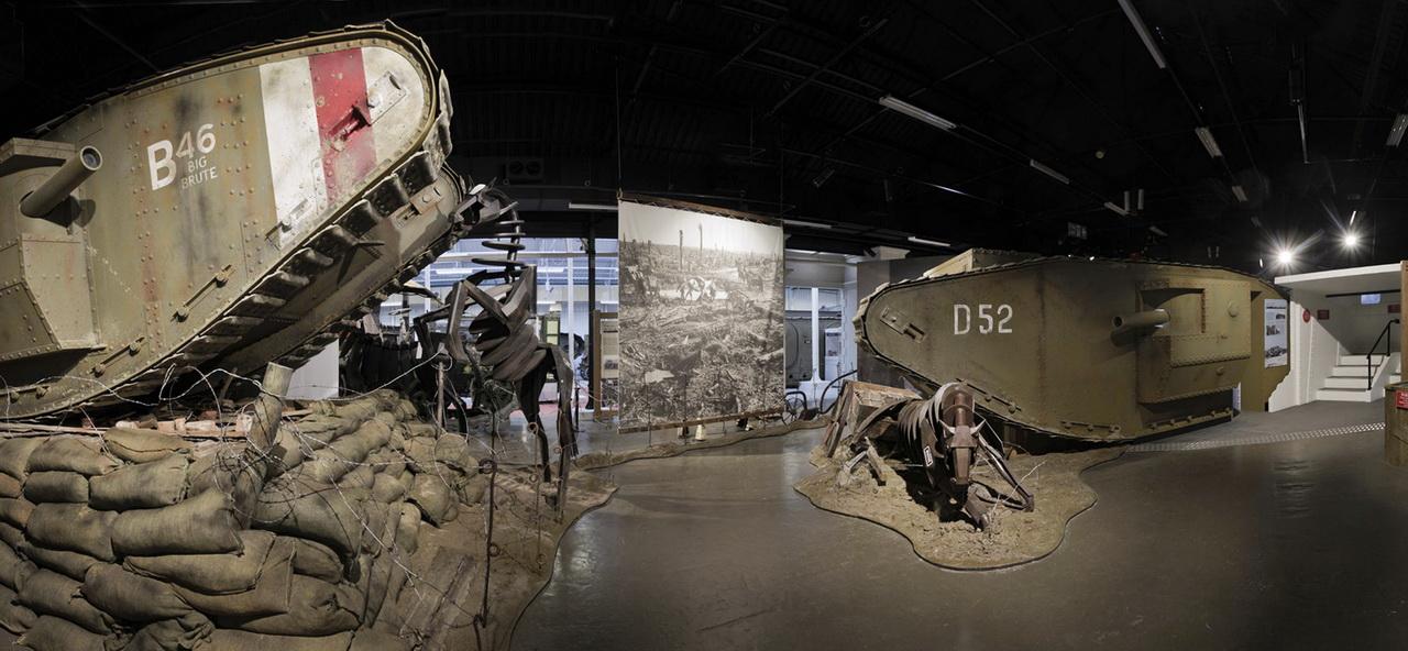 Spotkanie z Wargaming w muzeum w Bovington - wystawa