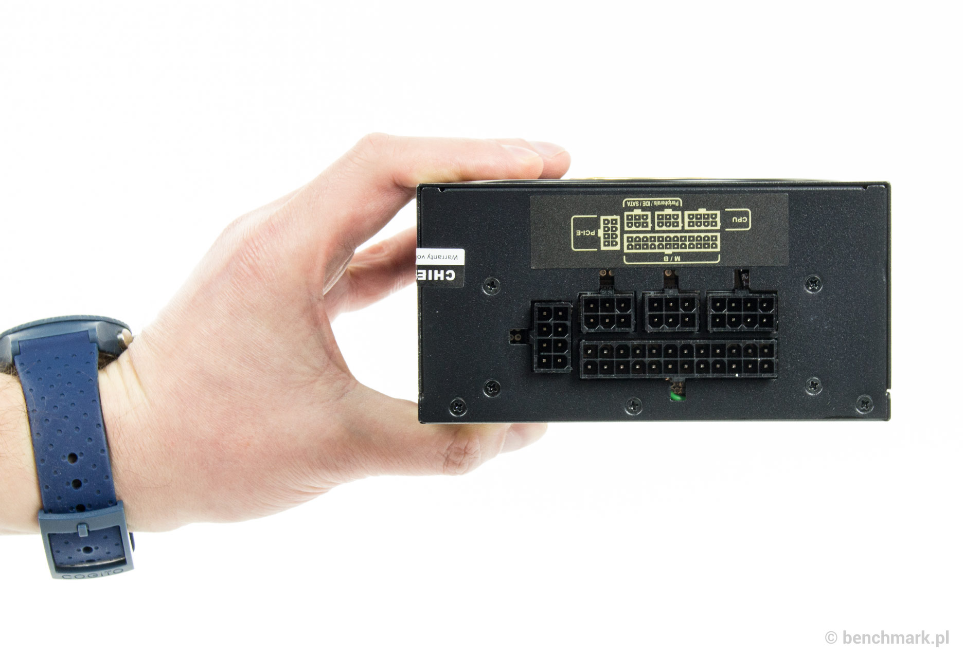 Chieftec SFX-500GD-C zasilacz - wtyczki do podłączenia okablowania