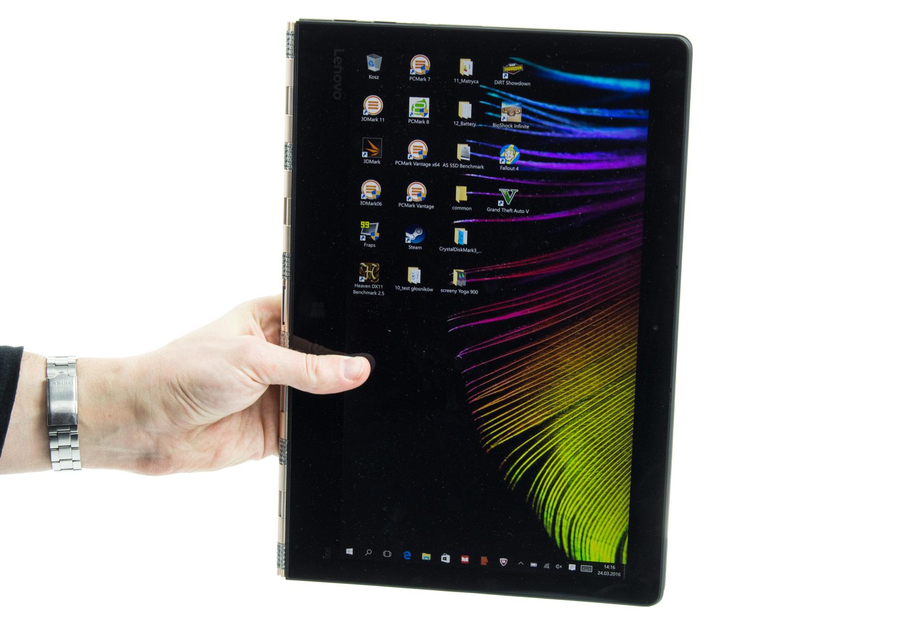 Lenovo Yoga 900 tryb tabletu