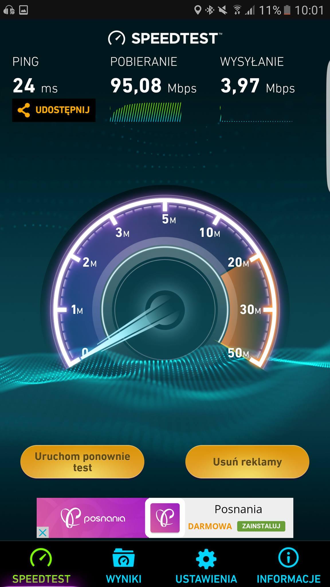Kingston MobileLite Pro test wifi 5 GHz