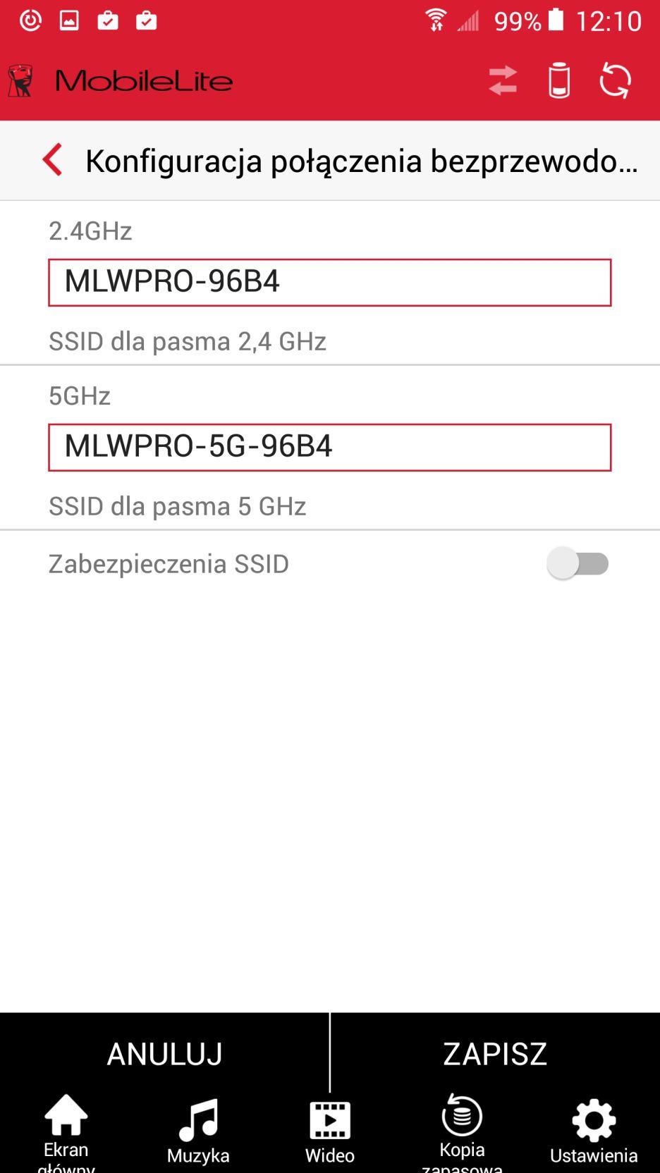 Kingston MobileLite aplikacja android 4