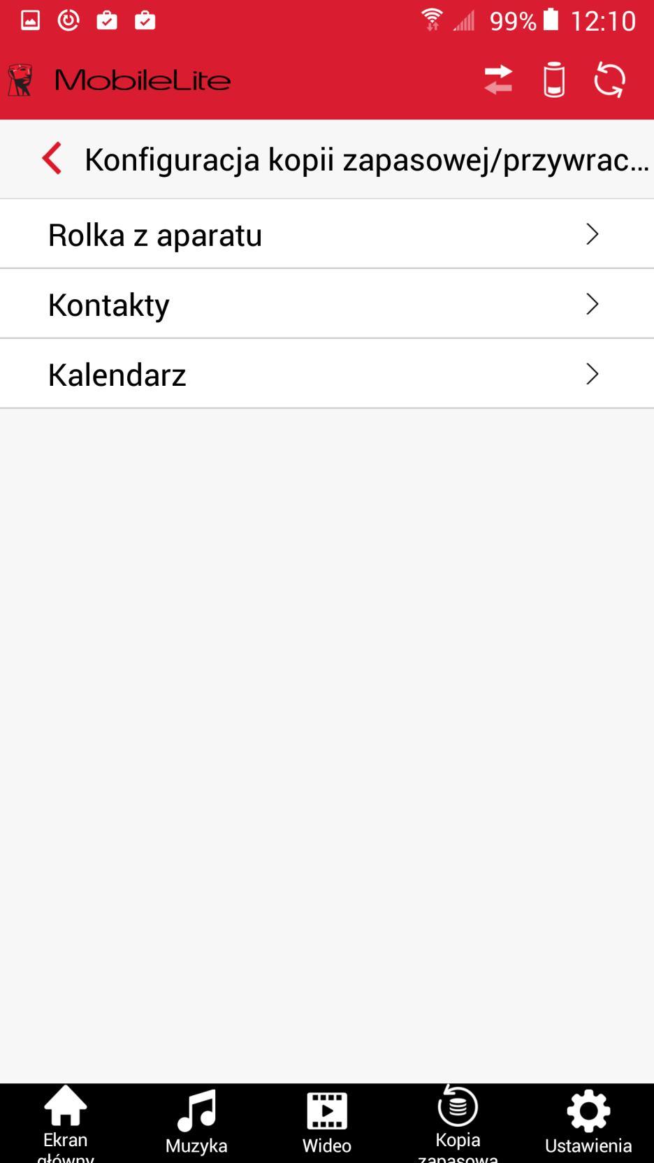 Kingston MobileLite aplikacja android 3