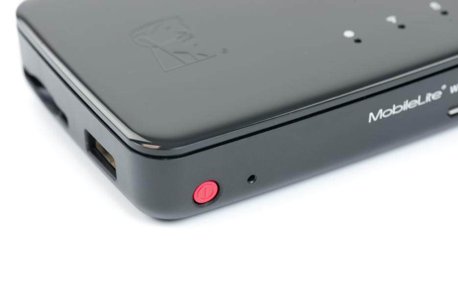 Kingston MobileLite Pro - przyciski