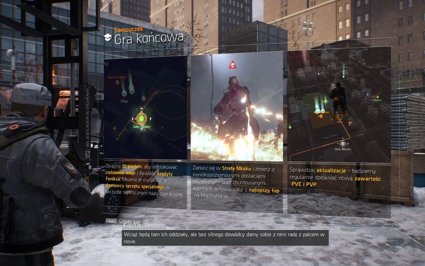 The Division - gra końcowa