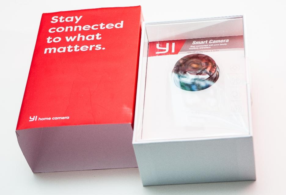 Xiaomi Yi Home pudełko