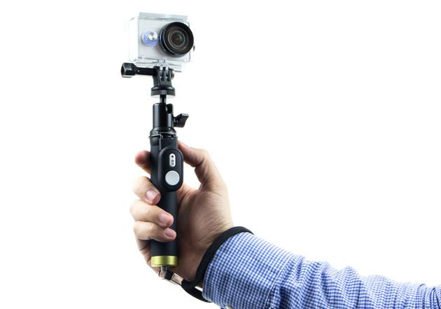 Xiaoyi Action Camera - selfie stick złożony