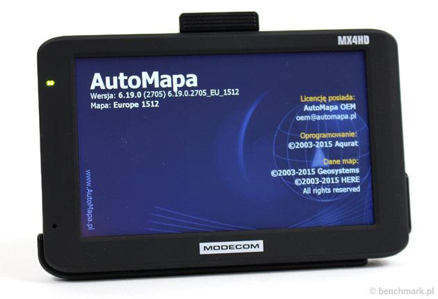 MODECOM FreeWAY MX4HD AutoMapa
