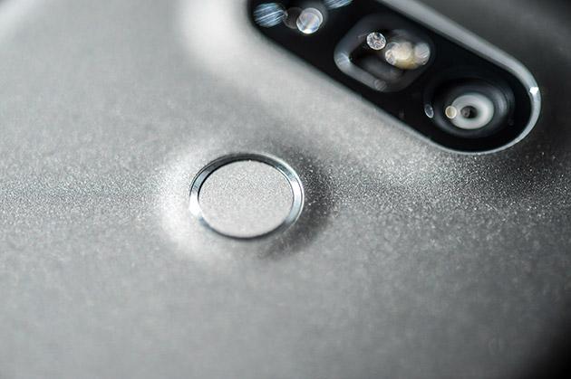 LG G5 - skaner linii papilarnych