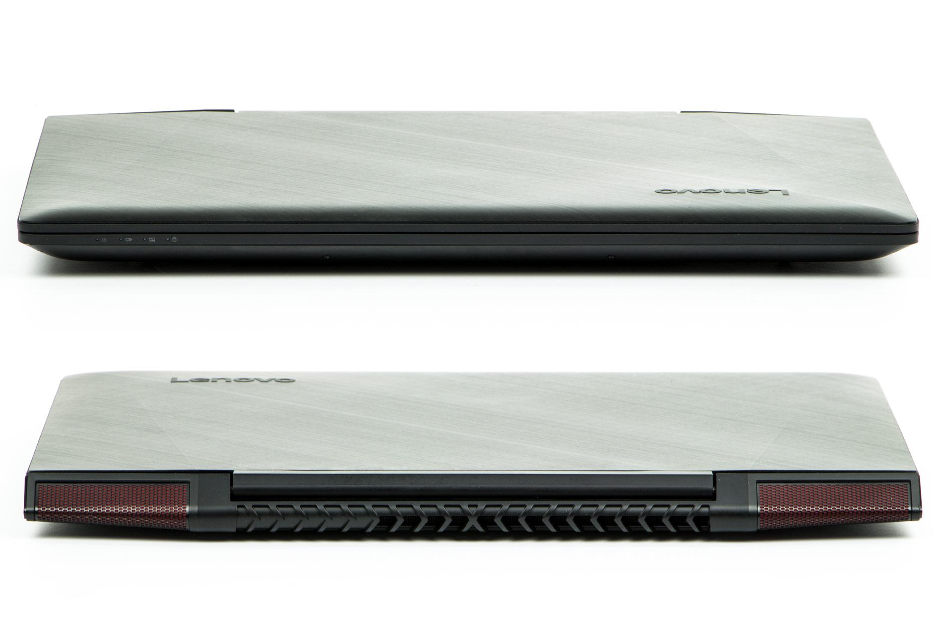 Lenovo Y700-15ISK przód i tył