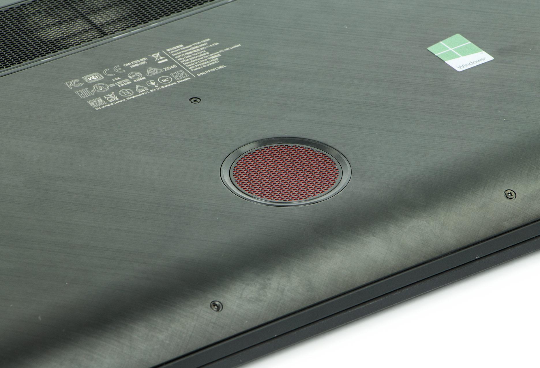 Lenovo Y700-15ISK subwoofer