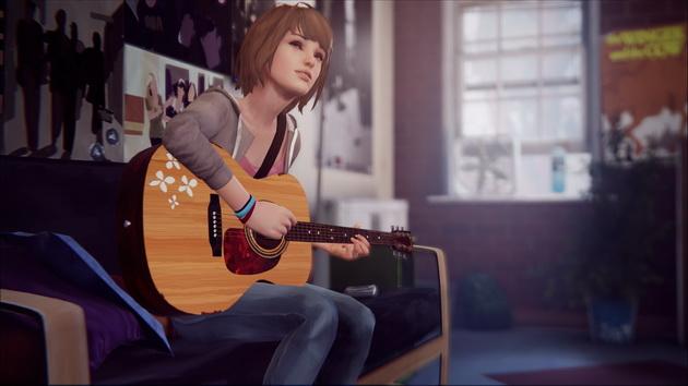 Life is Strange - Max gra na gitarze