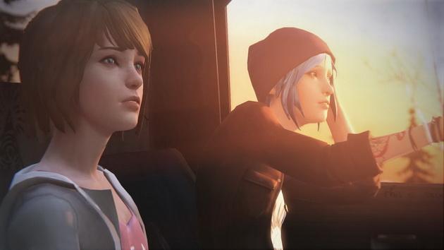 Life is Strange - Max i Cloe w samochodzie