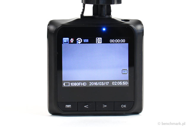 Xblitz P100 - ekran