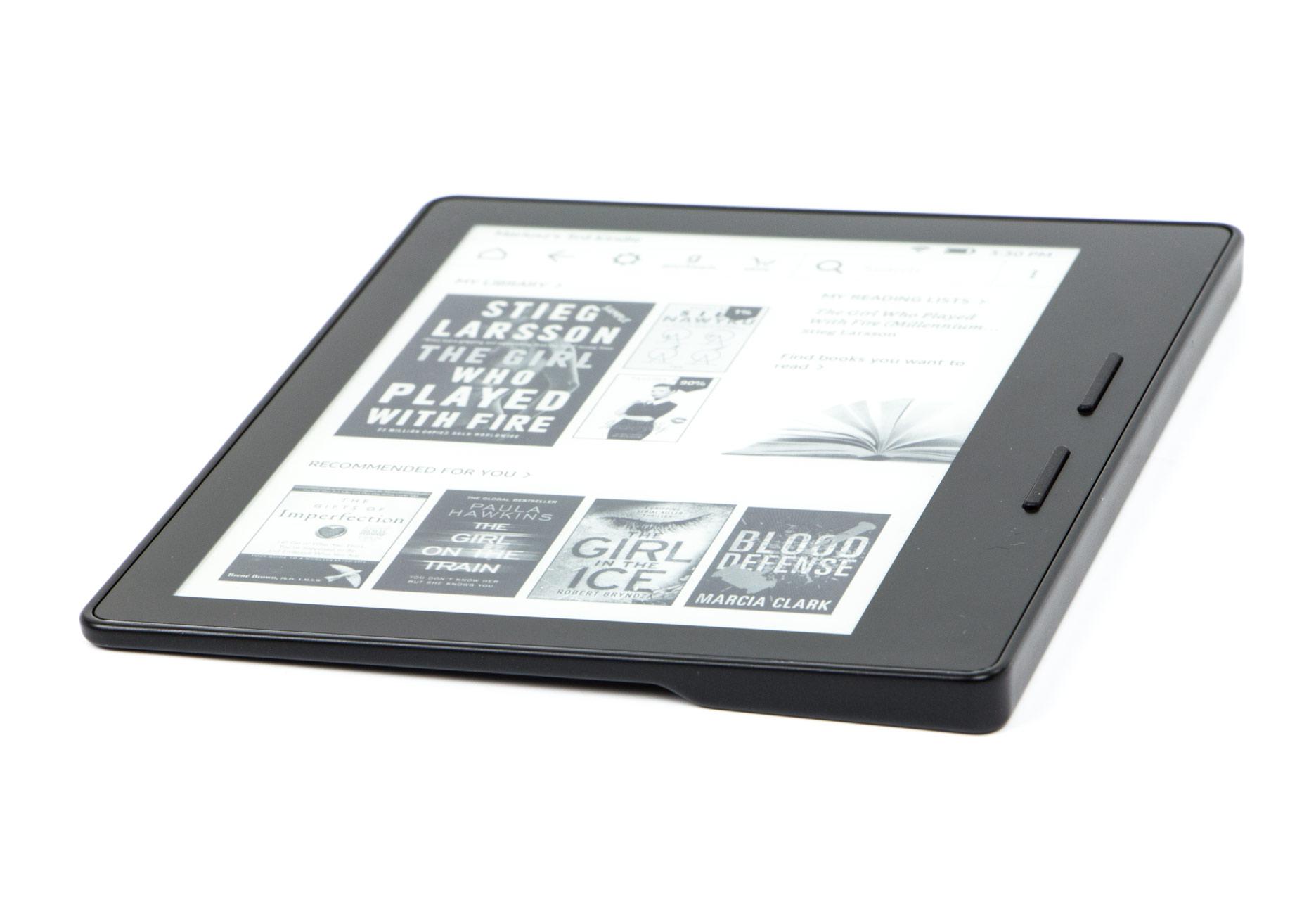 Kindle Oasis przyciski zmiany stron