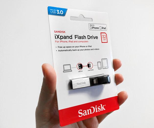 SanDisk iXpand - opakowanie