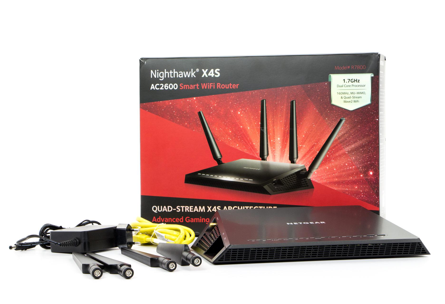 Netgear X4S - cały zestaw