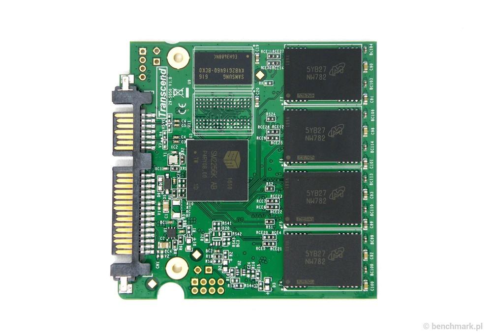Transcend SD220S 240 GB dysk SSD - PCB