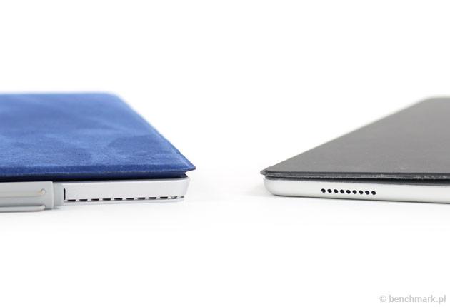 Microsoft Surface Pro 4 i iPad Pro bok