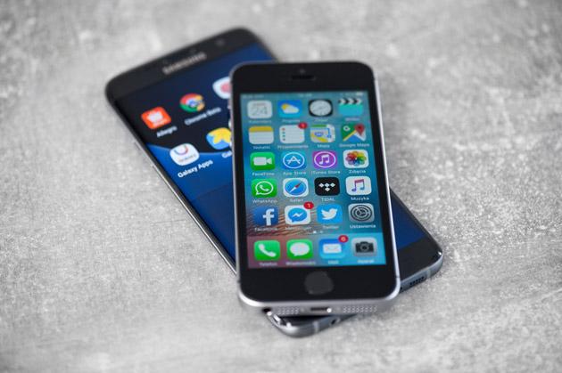 iPhone SE - wyświetlacz