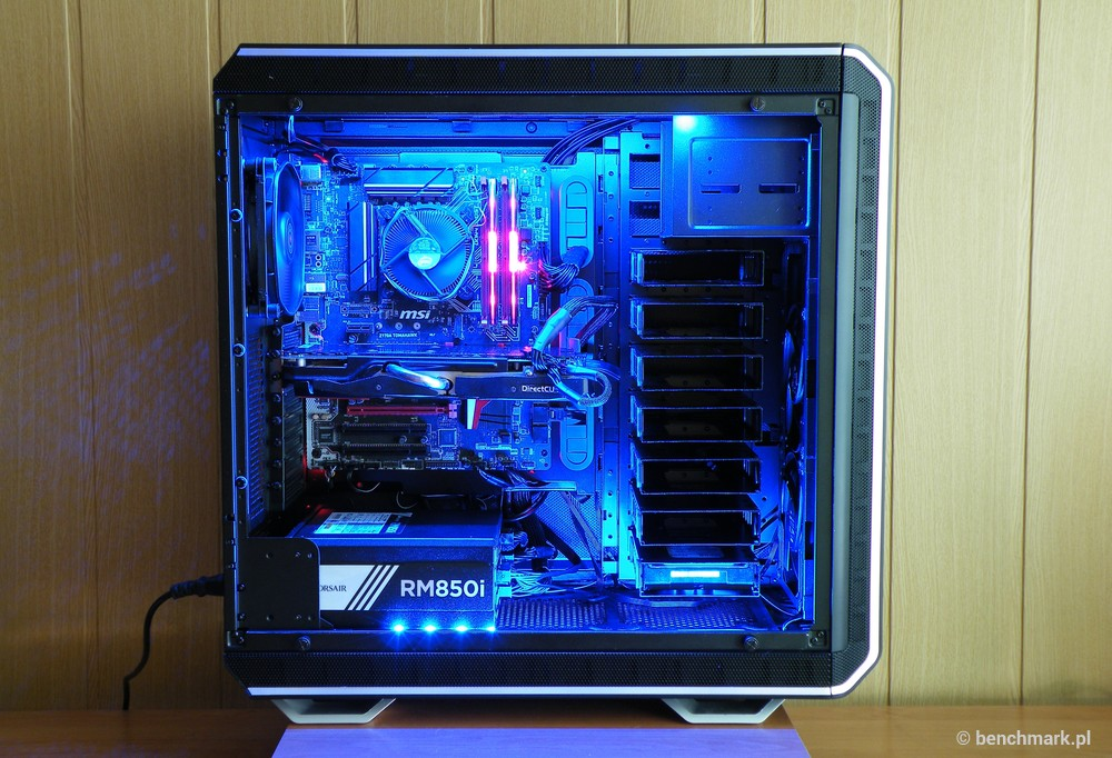be quiet! Dark Base Pro 900 - montaż komputera