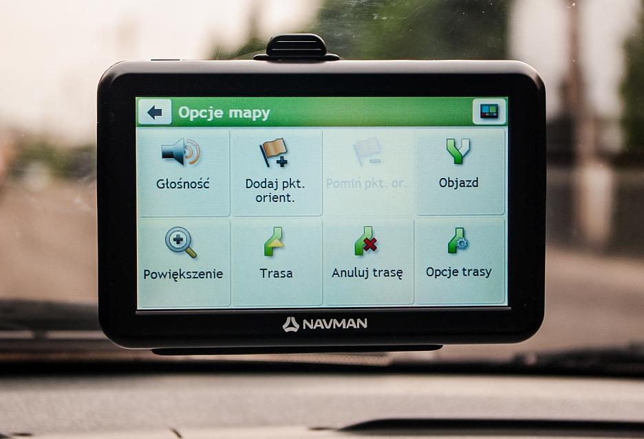 NAVMAN 5000 LM - menu mapy