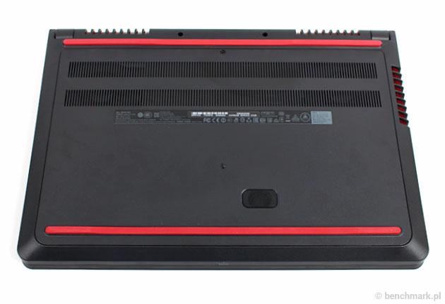 Dell Inspiron 7559 spód obudowy