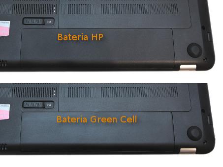 Porównanie oryginalnej baterii HP i zamiennika Green Cell Ultra